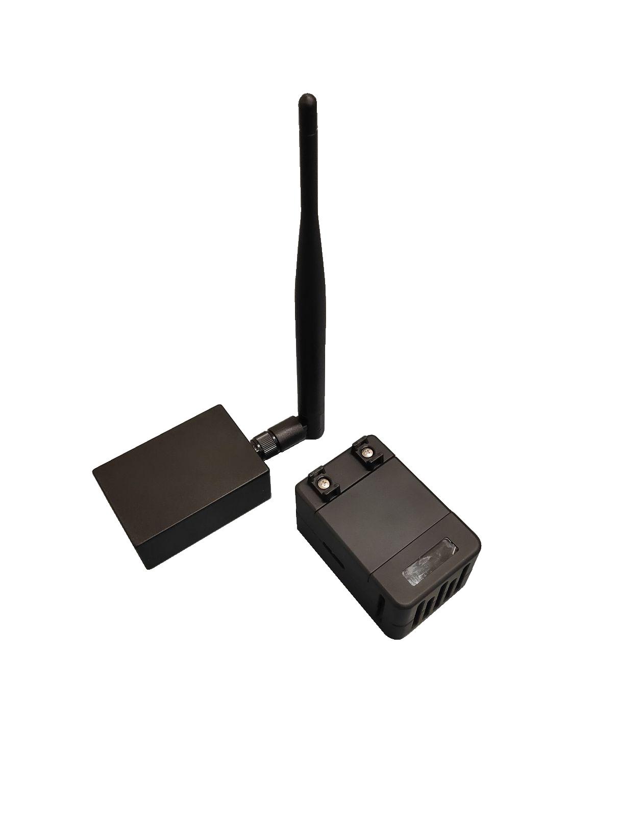 無線中継器(親機)とセンサーユニット(子機)
