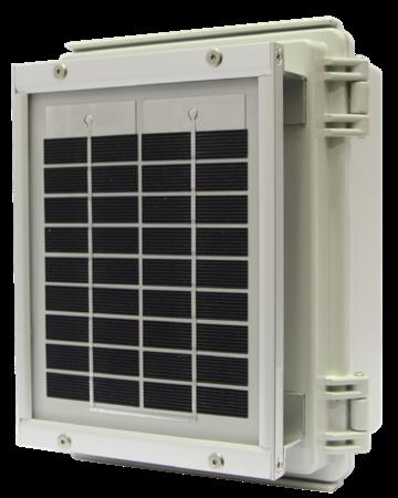 太陽電池モジュール&防水BOX